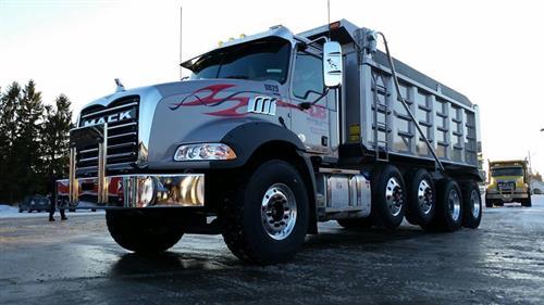 Mack Dump Truck for all your trucking needs!