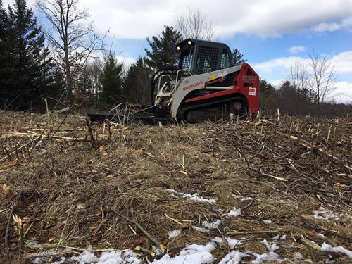 New brush-hog for lot clearing