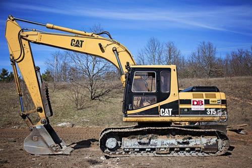 315 Cat Excavator