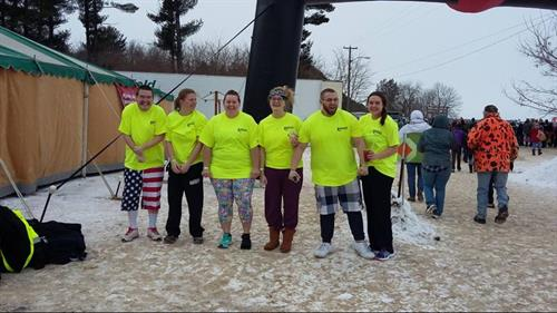 The Plungettes ~ Special Olympics Polar Plunge WR 2017