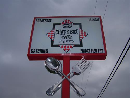 Chat-r-box Restaurant and Catering in Beautiful Downtown Kellner