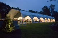 The Misselwood Tent at Night
