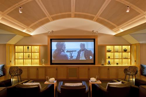 Harborside Oasis Screening Room