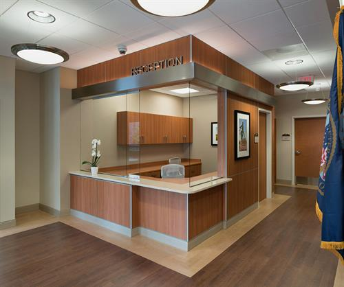 Veterans Administration Outpatient Clinic Front Desk