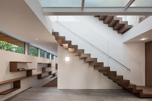 Clark Hill Residence Staircase
