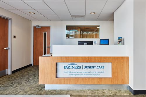 Partners Health Care Front Desk