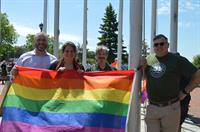 Flag Raising During Pride Month in Salem, Mass.