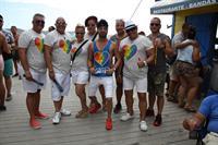 #PulseOrlando Friends and Supporters in now almost unrecognizable Puerto Rico Pride, 2017.