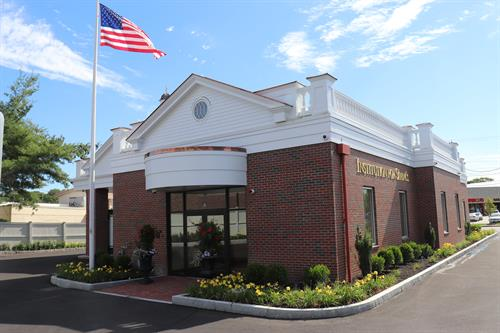 Salem Office Back Entrance