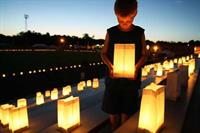 Luminaria Ceremony to remember those who have passed to cancer