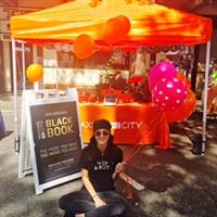 Chantelle one of our WTC Kirkland Cerologist at the 2016 Kirkland Summerfest