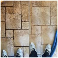 We also clean tile and grout!