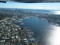 Lake Union looking south to Seattle
