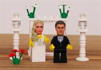 Custom heads of you and your family which fit on LEGO mini-figures.