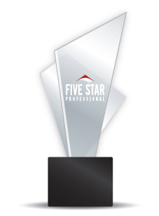 Our Wallick & Volk loan officers are continually recognized as 5 Star Professionals