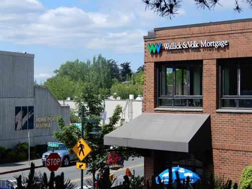 Wallick & Volk Mortgage Bankers in Downtown Kirkland