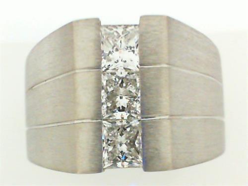 Custom Mans diamond ring