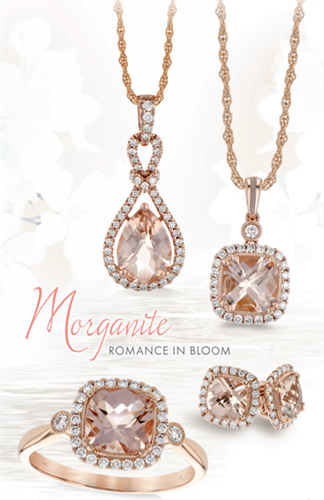 Rose Gold and Morganite