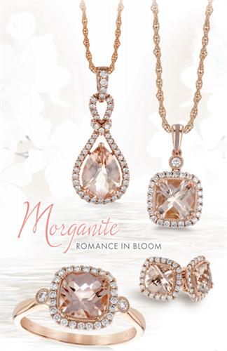 Rose Gold and Morganite