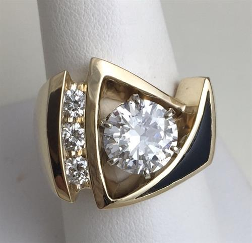Custom Designed Ladies diamond ring
