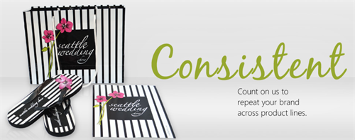 BE CONSISTENT.  Ensuring that your brand message is always consistent.
