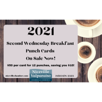 2021 Chamber Breakfast Punch Cards - On Sale Now