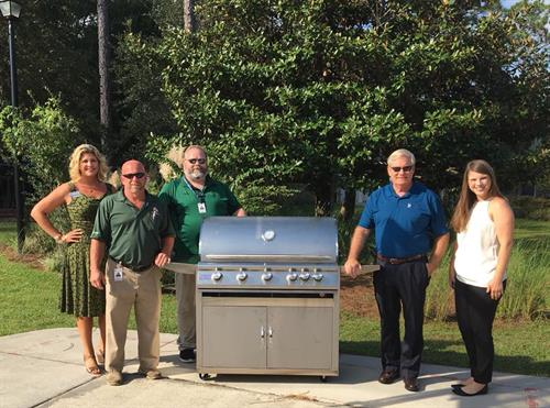 We're proud to support our community by giving back!  This Blaze Grill went to our friends at Children in Crisis, Inc.