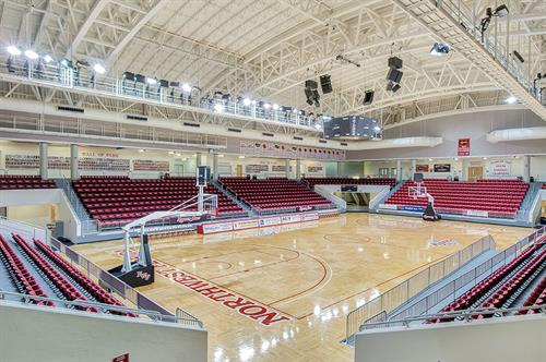 NWF State College Raider Arena