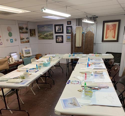 Workshop- classroom.