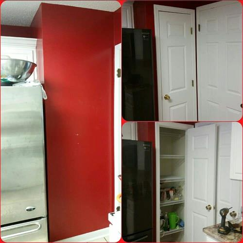 New pantry!
