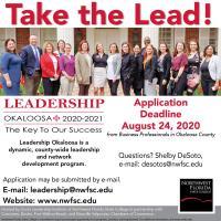Leadership Okaloosa Now Accepting Application