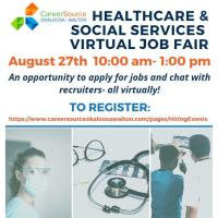 CareerSource Okaloosa Walton virtual job fairs and hiring events