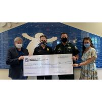 First Judicial Circuit Law Enforcement Assoc. Donates to CIC Children