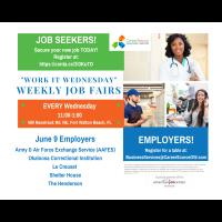 Work it Wednesday Weekly Job Fair