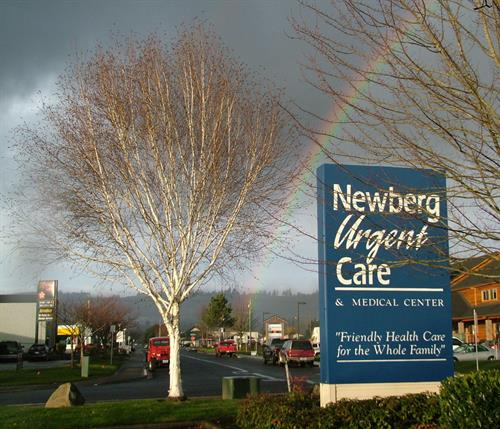 Newberg Urgent Care...2007 rainbow promise.