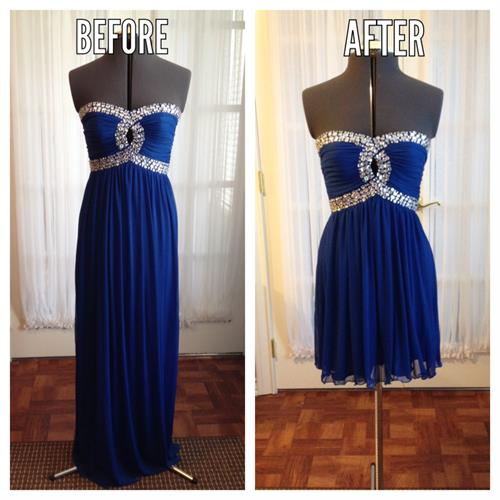 Formal Gown Alterations