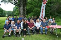 OESCO employees having fun at a TAJFUN picnic in OESCO's backyard.
