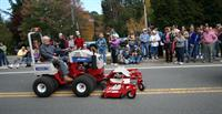 Norman French driving a Ventrac in Festival of the Hills Parade