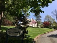 Brandt House front drive