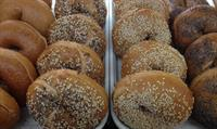 We make our own bagels fresh daily.