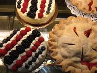 Pies and cakes from our bakery for any occasion.