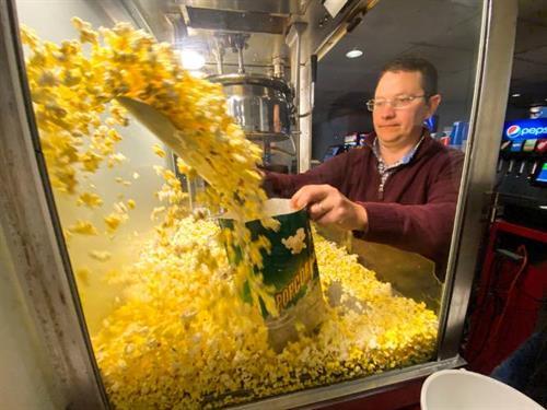 The best popcorn