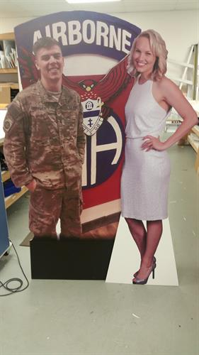 Life size standees