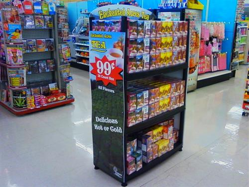 Sales display