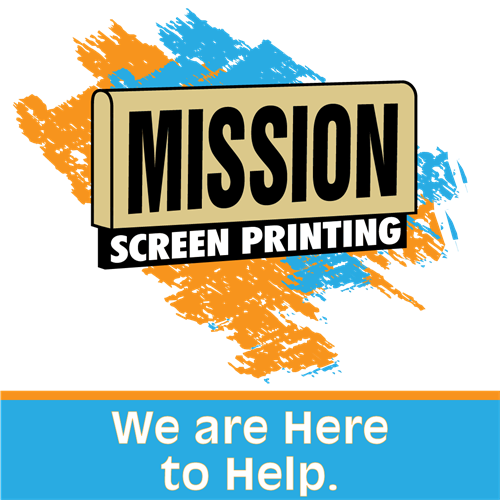 New to screen printing? Give us a call. We can help.