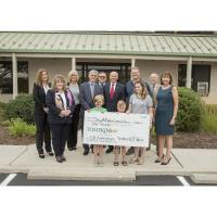 CUSTOMERS, COMMUNITY LEADERS HELP  TOMPKINS VIST BANK CELEBRATE 110th ANNIVERSARY