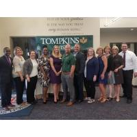 MULTI-CHAMBER MIXER SPONSORED BY TOMPKINS VIST BANK AND PJP II HIGH SCHOOL A SUCCESS