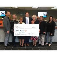 TOMPKINS VIST BANK DONATES $10,000 TO THE BOYERTOWN EDUCATIONAL FOUNDATION