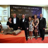 "TOMPKINS VIST BANK STAFF ""PARTY LIKE ANIMALS"" AT ELMWOOD PARK ZOO 95TH ANNIVERSARY FUNDRAISER"