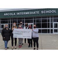 TOMPKINS VIST BANK DONATES $2,500 TO METHACTON EDUCATIONAL FOUNDATION